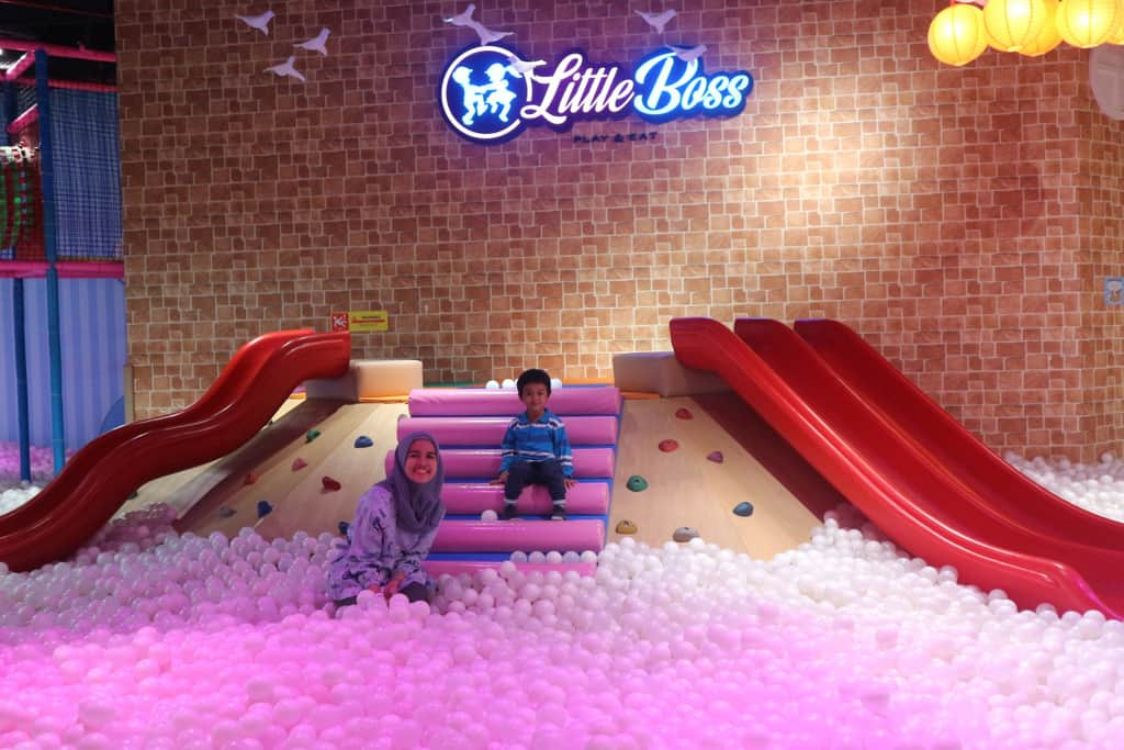 little boss play eat taman bermain anak