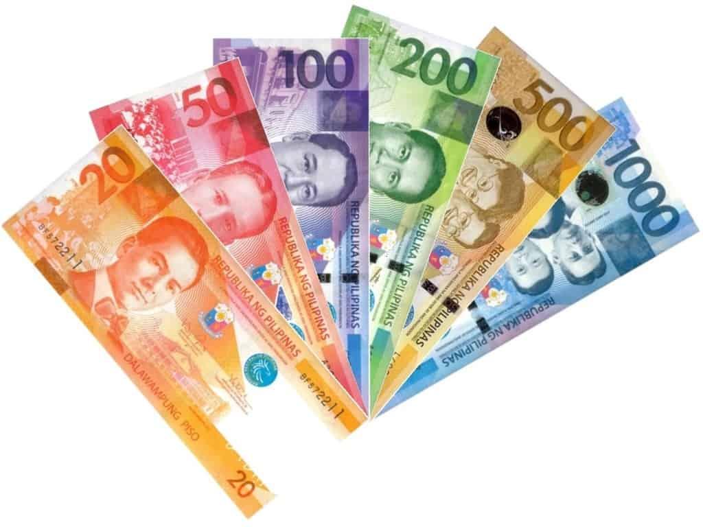 peso filipina mata uang filipina