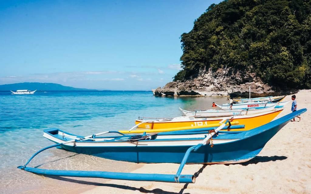 puerto galera pantai di filipina