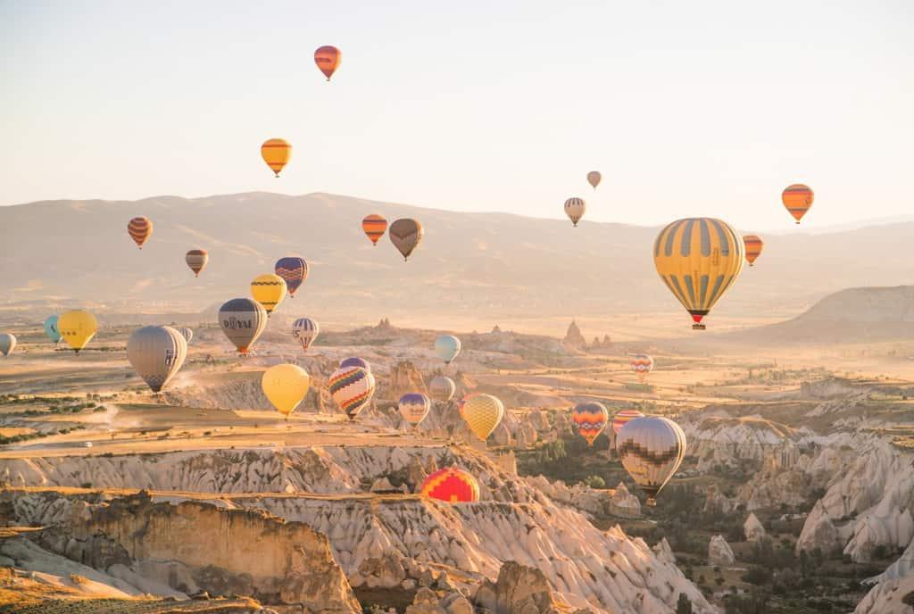 gambar pemandangan indah di luar negeri kapadokia turki