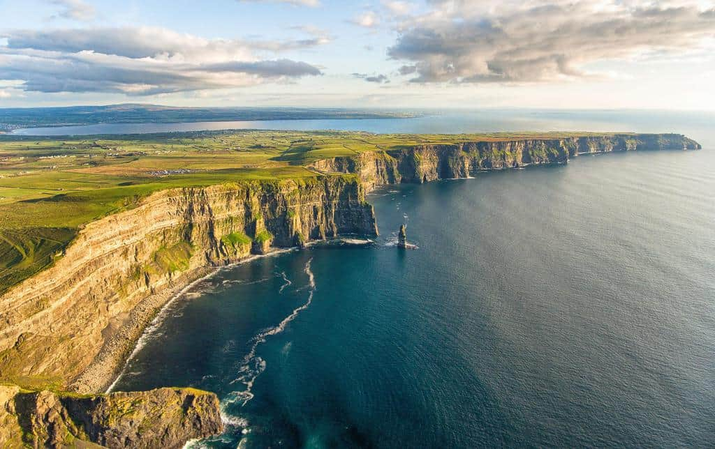 gambar pemandangan indah di luar negeri tebing moher irlandia