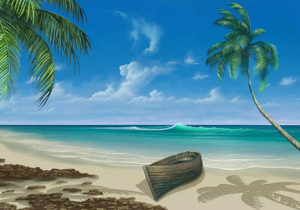 gambar pemandangan pantai dan laut 6